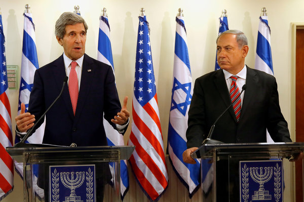 Kerry, Seeking to Nudge Along Peace Talks, Offers Netanyahu Ideas on Security – NYTimes.com