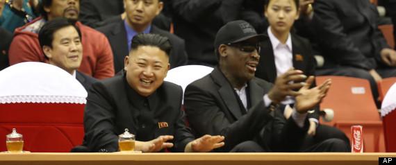 Rodman Returns from North Korea Visit