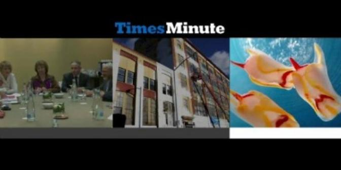 Times Minute: Planning for Carbon Taxes; Obama's Books; Beer for Alcoholics